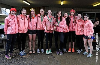 NWC 2012 XC Champions Lewis & Clark With Trophy