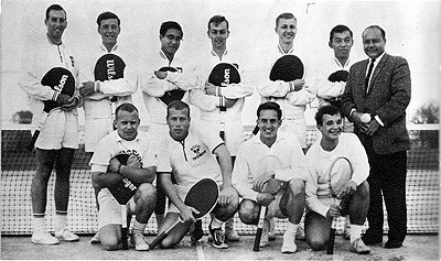 1964 Men's Tennis Team
